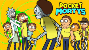 Pocket Mortys Egg And true morty